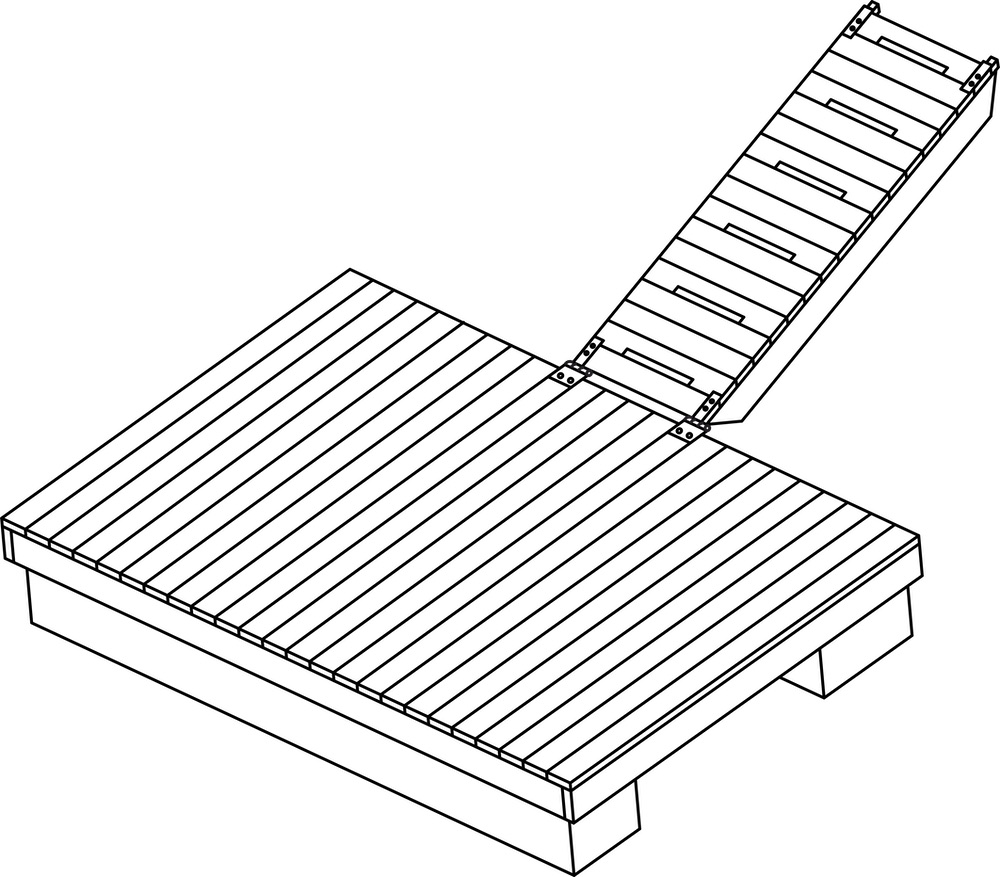 Platform of Floating Dock plan